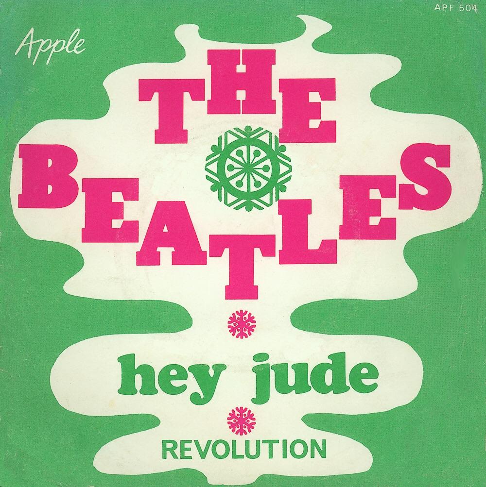 Hey Jude/Revolution single, 1968.