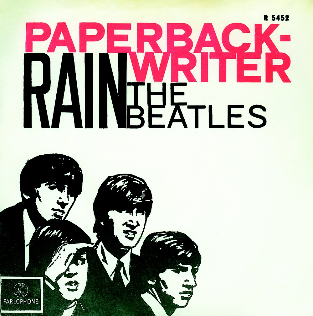 Rain/Paperback Writer single, 1966.