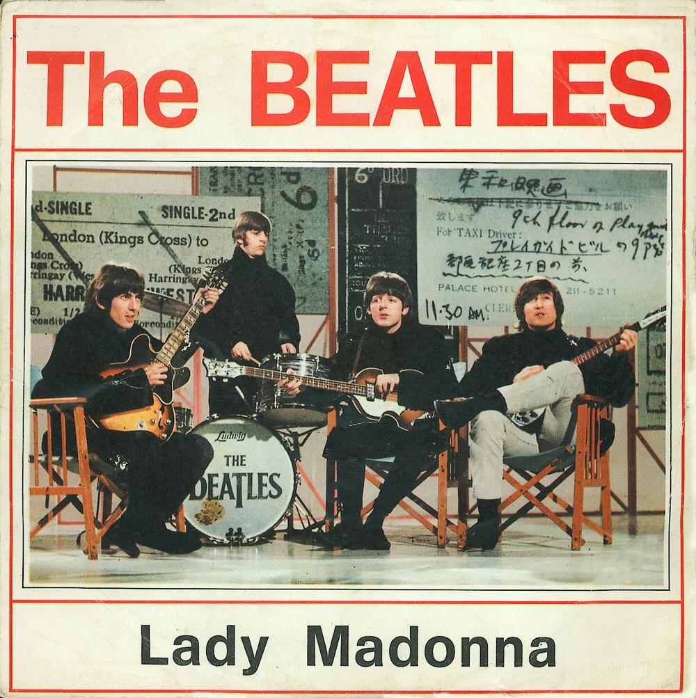 Lady Madonna single, 1968.