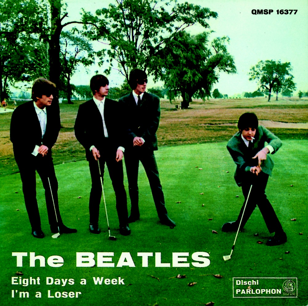 Eight Days a Week/I'm a Loser single, 1964.