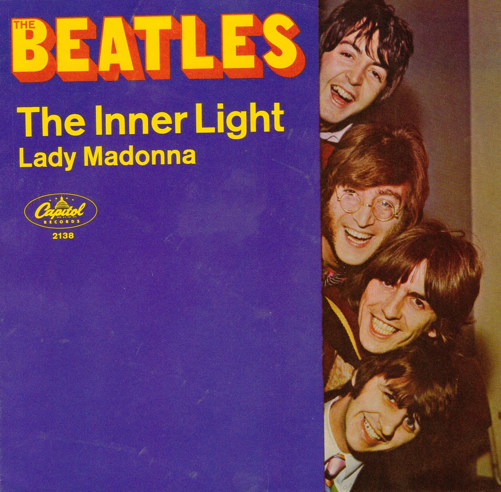 The Inner Light/Lady Madonna single, 1968.