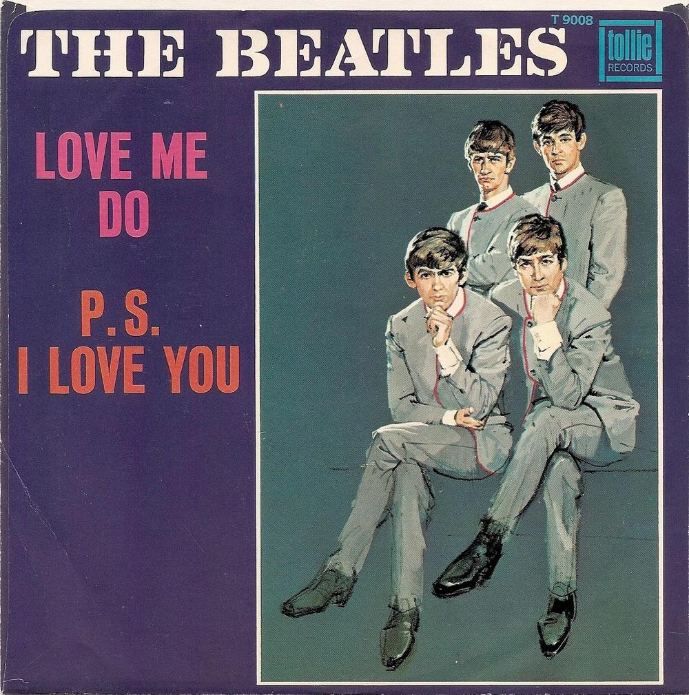 Love Me Do/P.S. I Love You single, 1963.