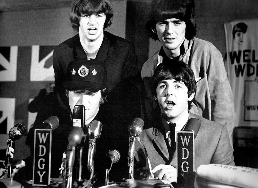 Beatles' press conference, 1965.