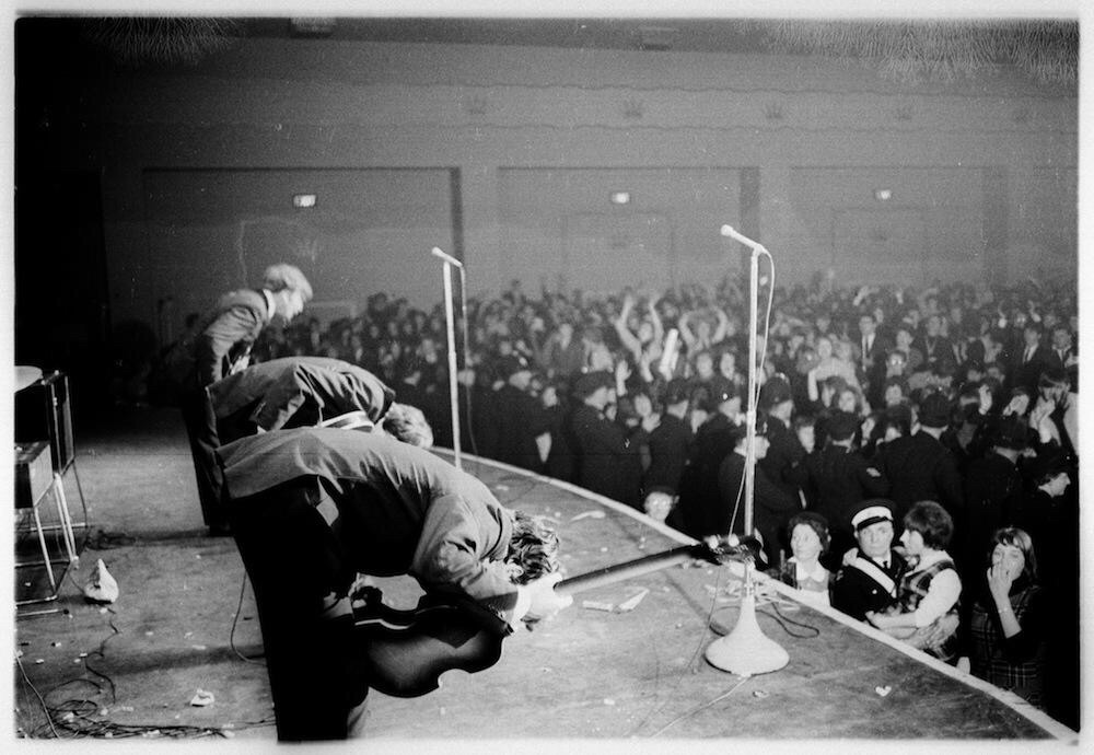 The Beatles at Winter Gardens, 1963.