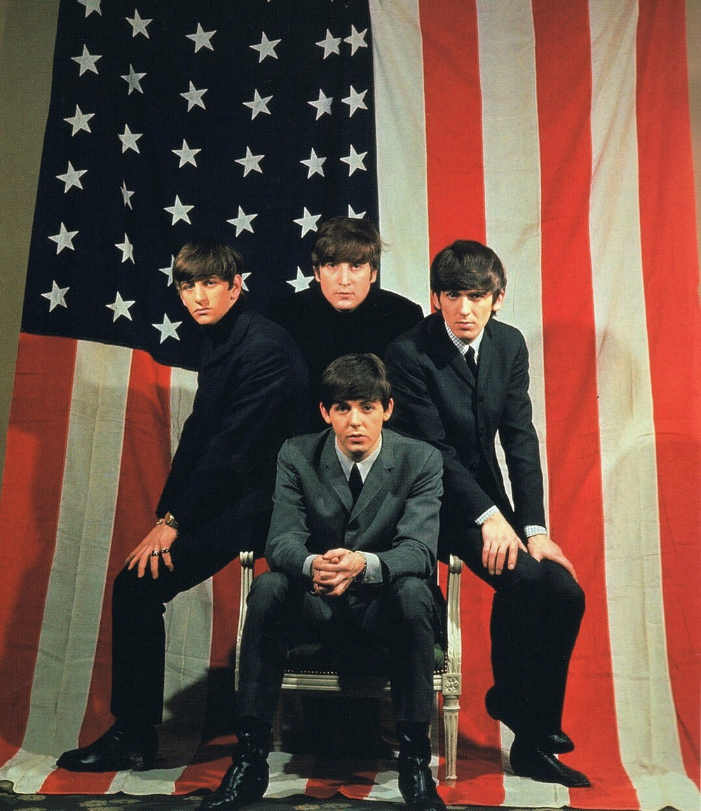 The Beatles in America, 1964.