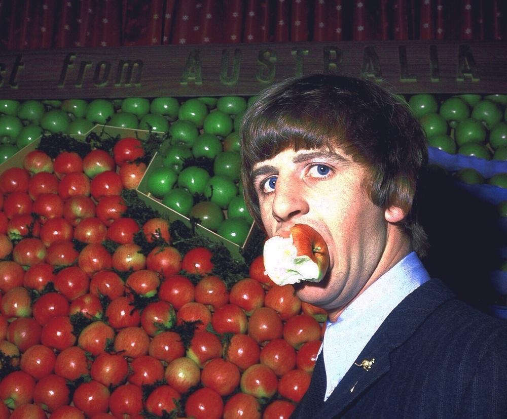 Ringo Starr, circa 1964.