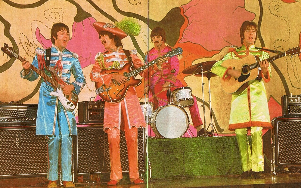 The Beatles performing Hello Goodbye, 1967.