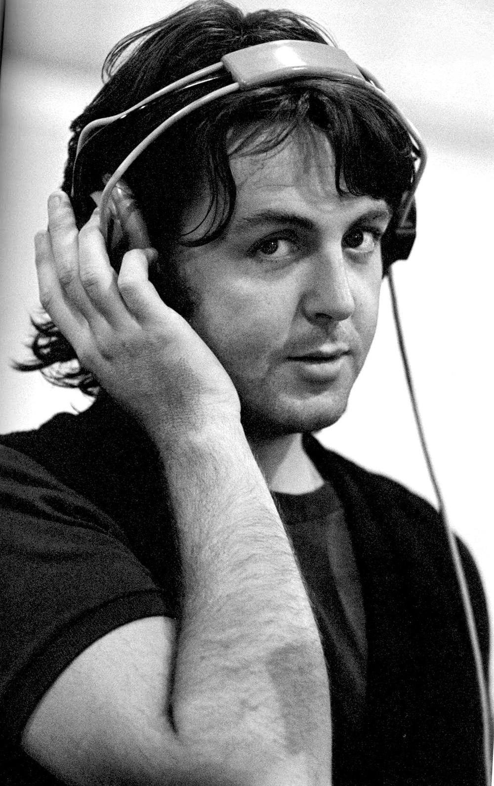 Paul McCartney at Abbey Road, 1969.