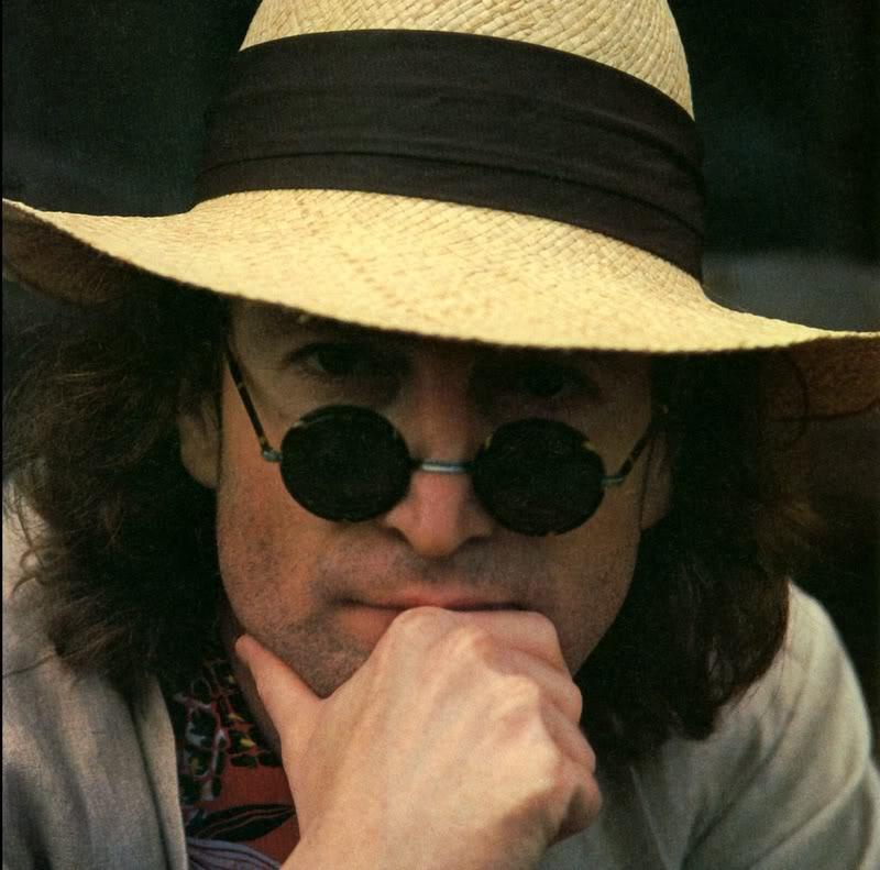 John Lennon circa 1976.