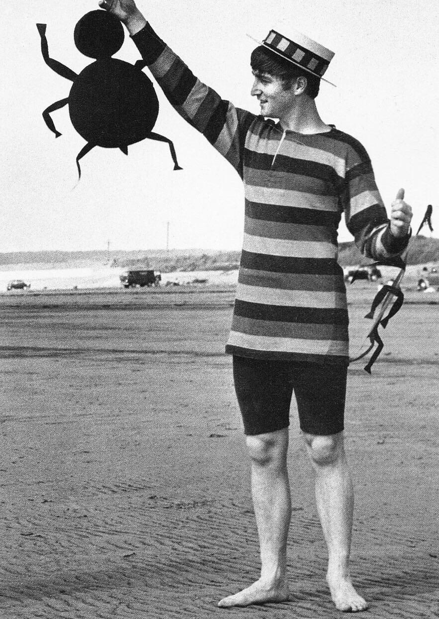 John Lennon, 1964.