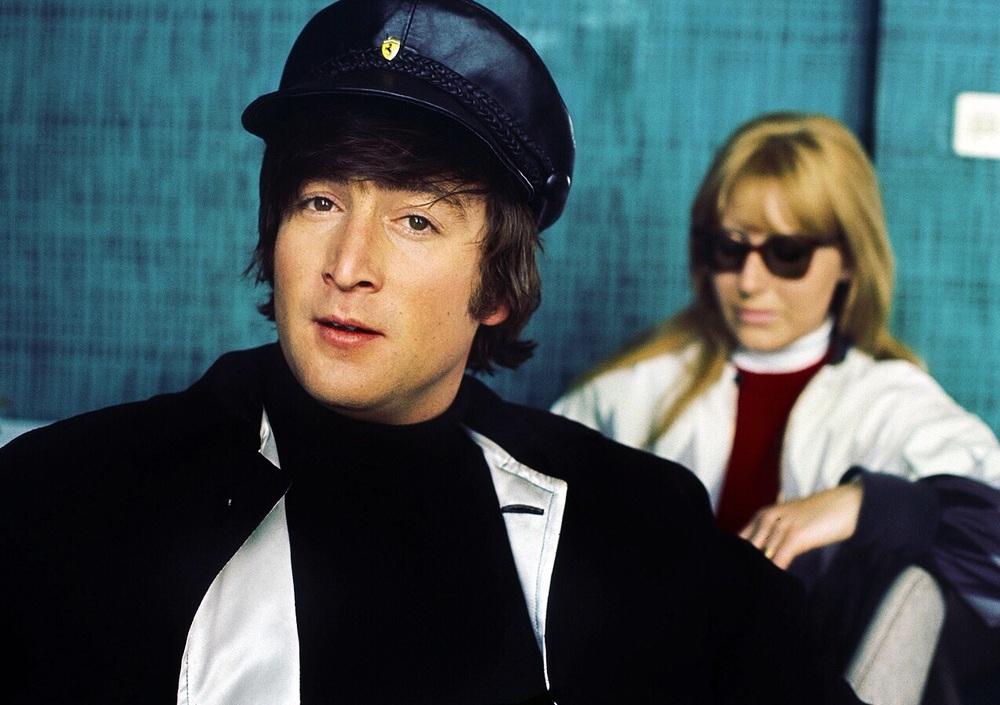 John and Cynthia Lennon, 1965.