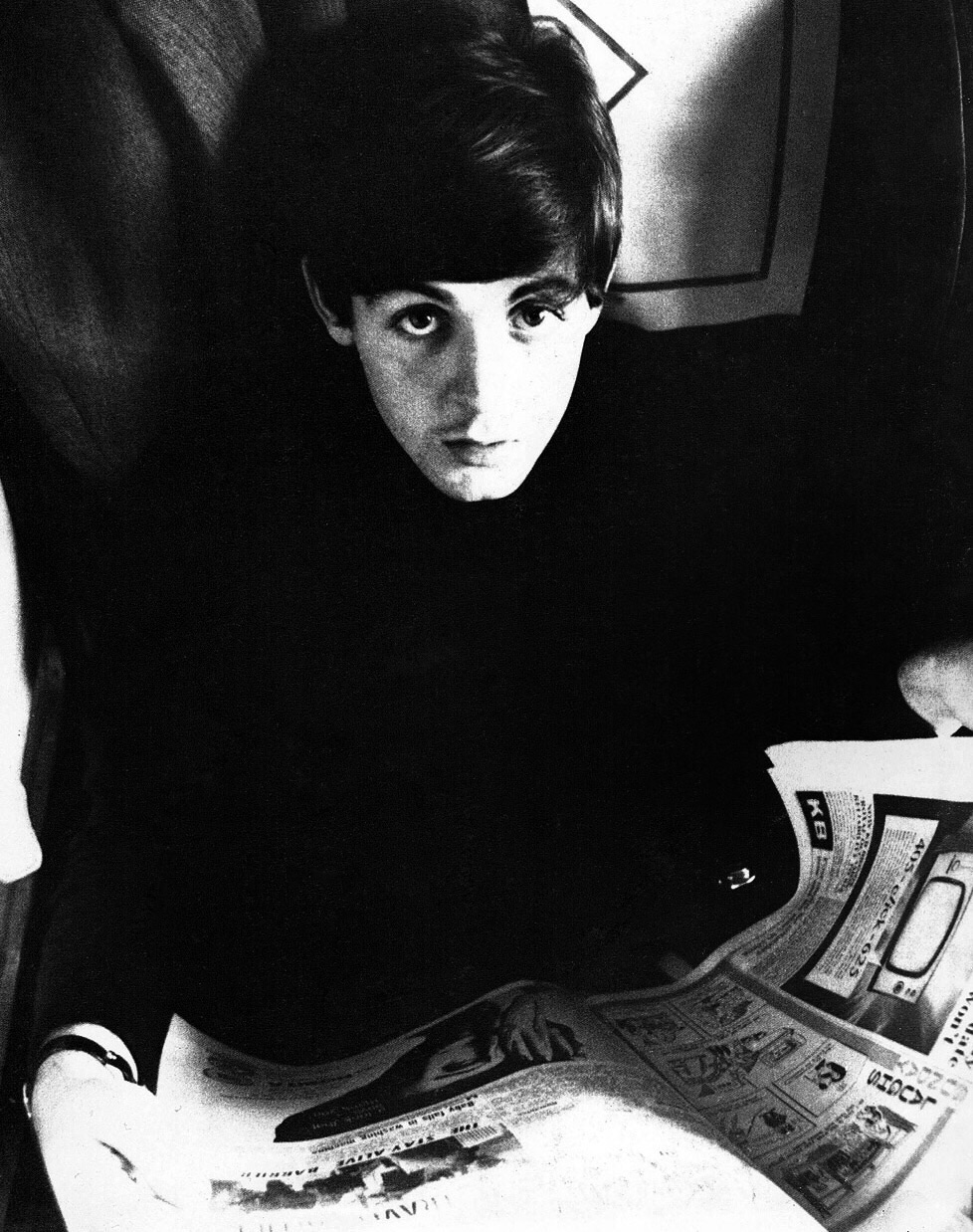 Paul McCartney circa 1963.