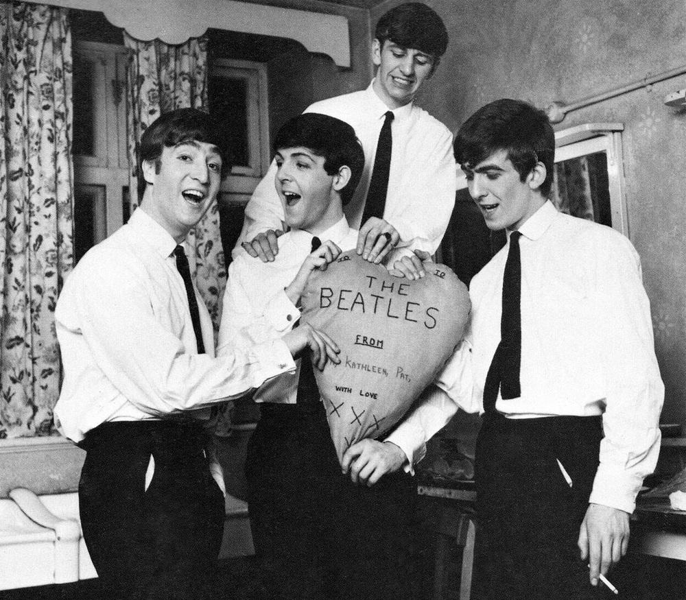 The Beatles circa 1963.