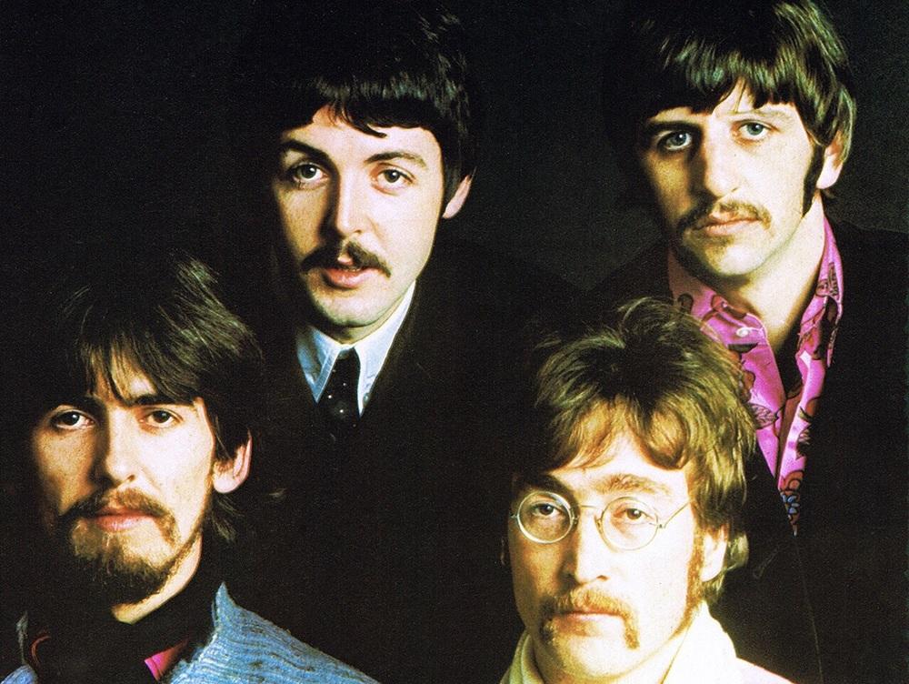 The Beatles' photo shoot, 1967.