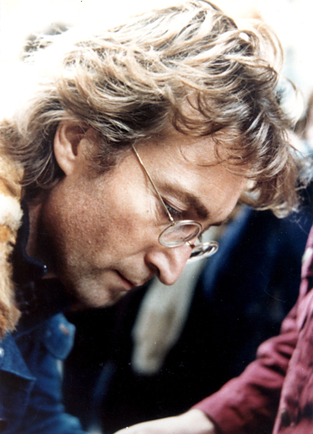 John Lennon in New York City, 1976.
