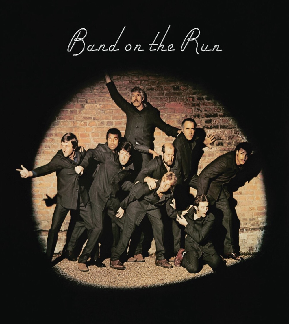 Band on the Run album cover, 1973.