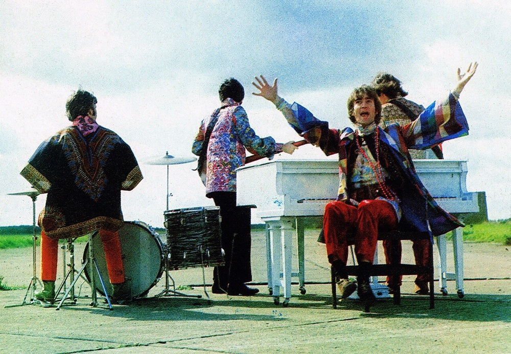 The Beatles performing I Am the Walrus, 1967.