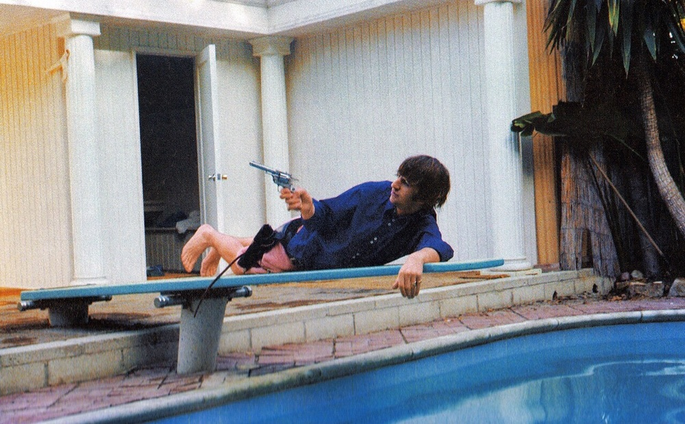 Ringo Starr in   Bel Air,     California, August 1964.