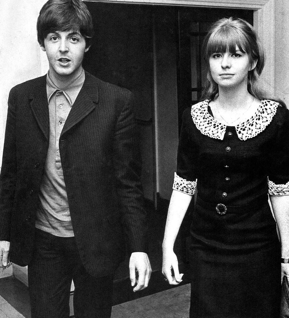 Paul McCartney and Jane Asher, circa 1965.