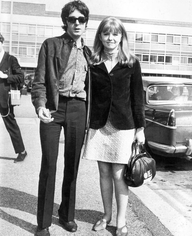 Paul McCartney and Jane Asher, 1967.