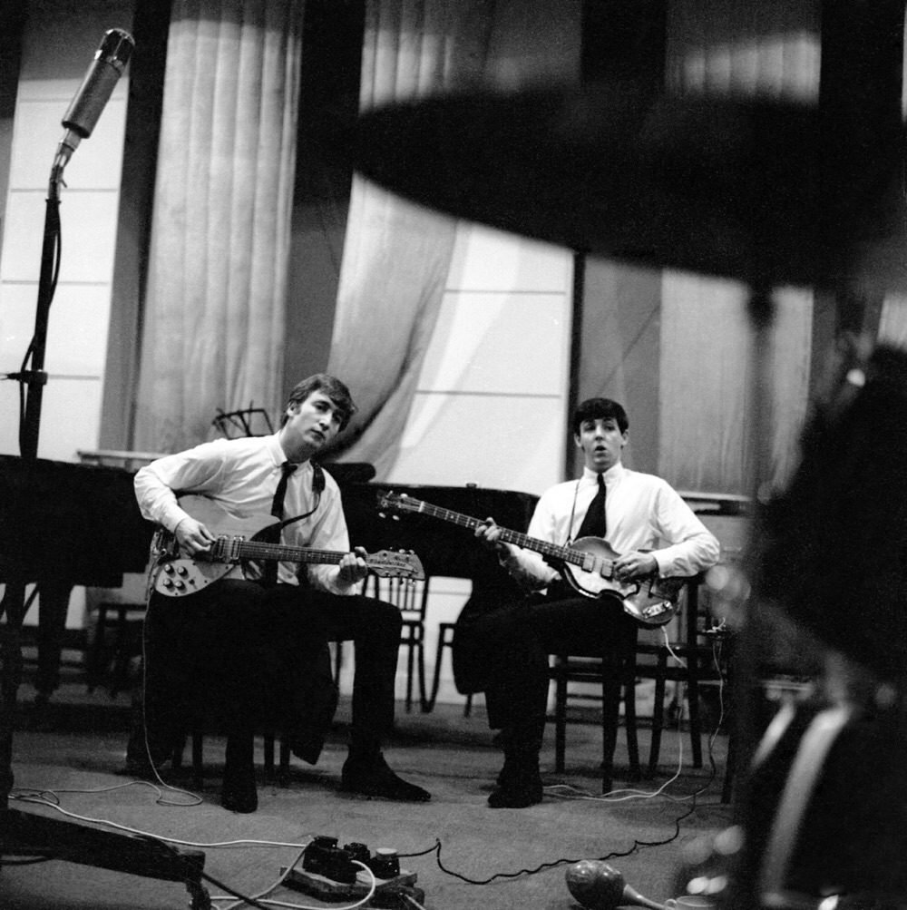 Early recording session beatles by day for Paul s garden studios