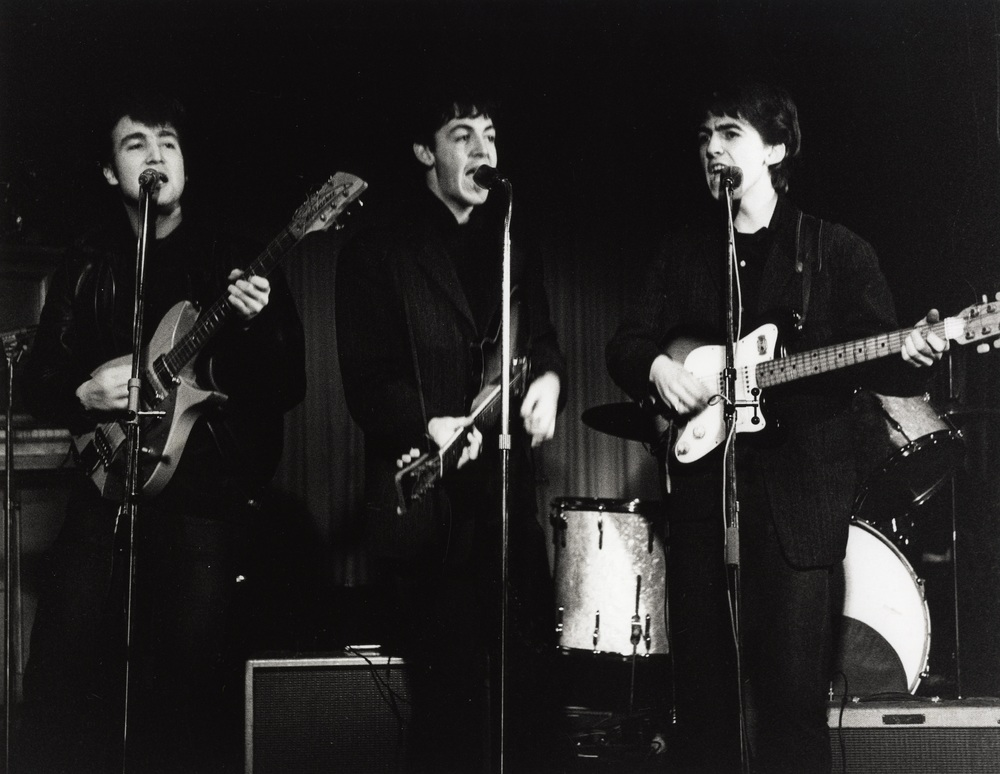 The Beatles Performing in Hamburg, circa 1961.