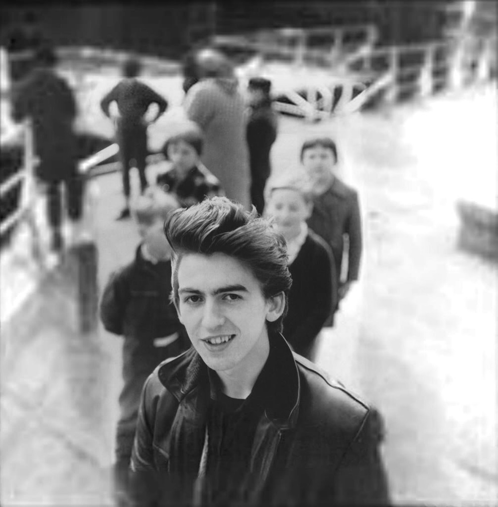 George Harrison in Hamburg, 1960. Photo by Astrid Kirchherr.