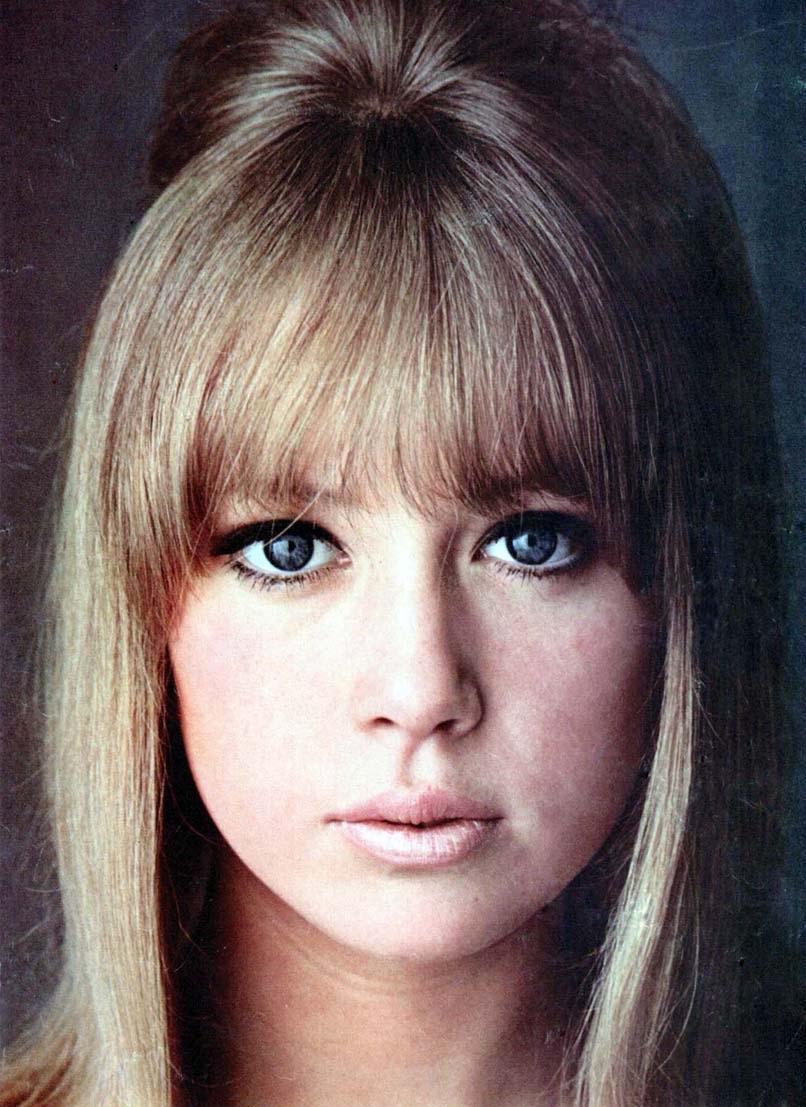 Pattie Boyd circa 1966.