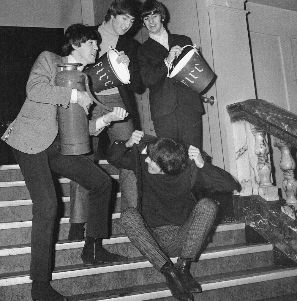 The Beatles circa 1965.