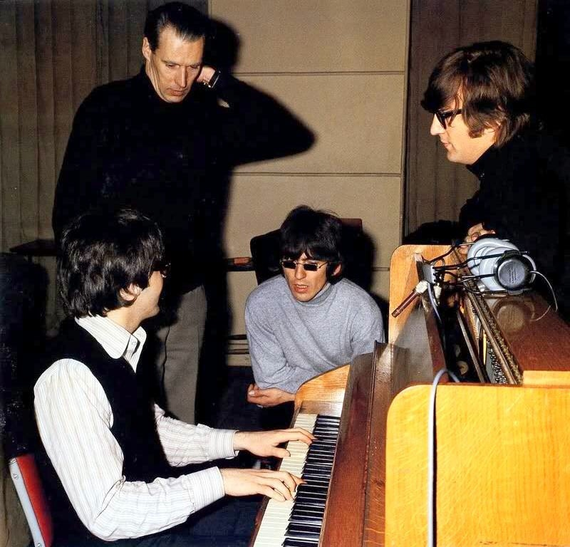 Recording session for Paperback Writer, April 14th, 1966.