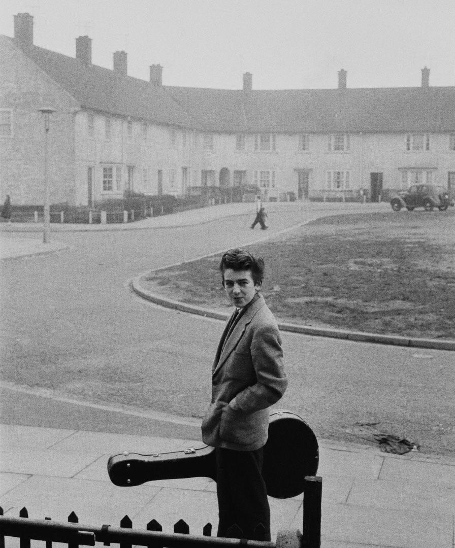 George Harrison circa 1955.