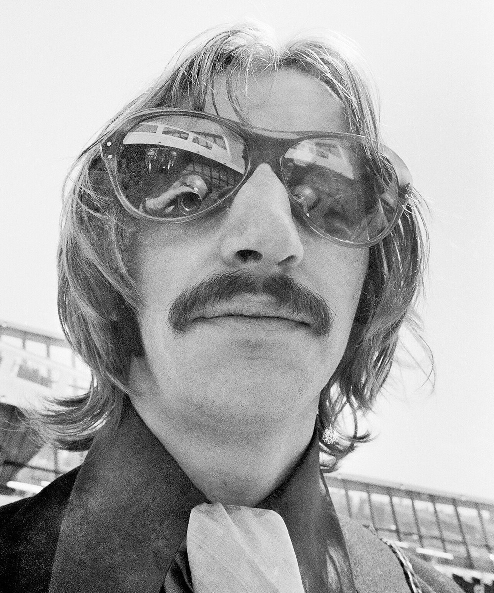 Ringo Starr On The Set Of Magical Mysery Tour 1967