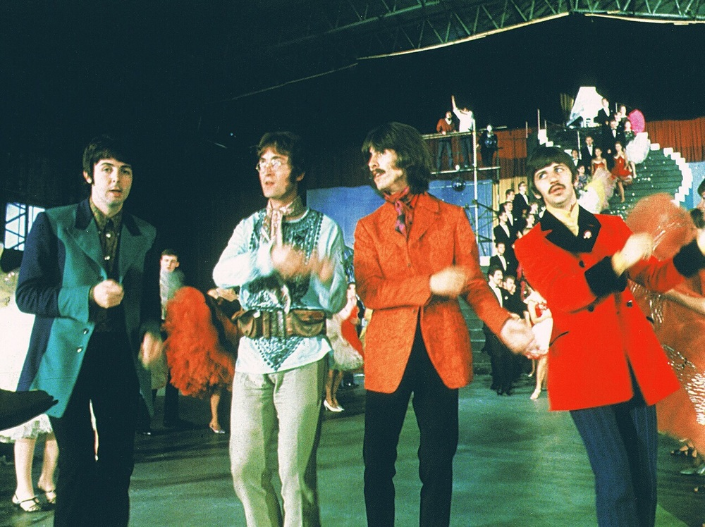 The Beatles rehearsing Your Mother Should Know, 1967.