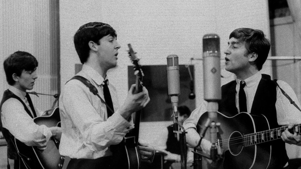 The Beatles recording From Me to You, March 5th, 1963.