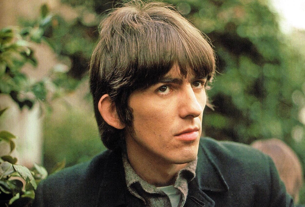 George Harrison at Chiswick House, May 20th, 1966.