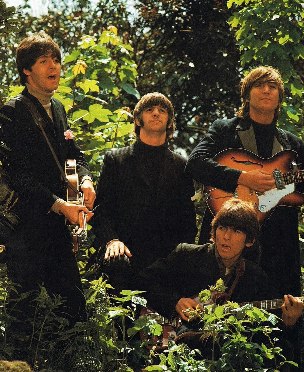 The Beatles at Chiswick House, May 20th, 1966.