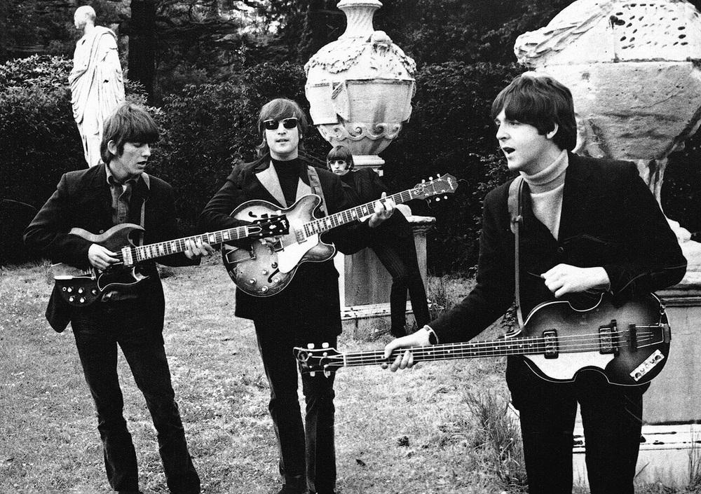 The Beatlesat Chiswick House, May 20th, 1966.