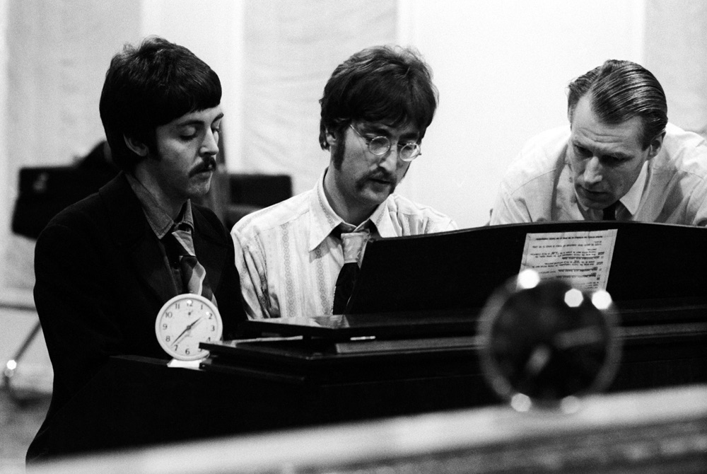 Resultado de imagen para george martin and the beatles