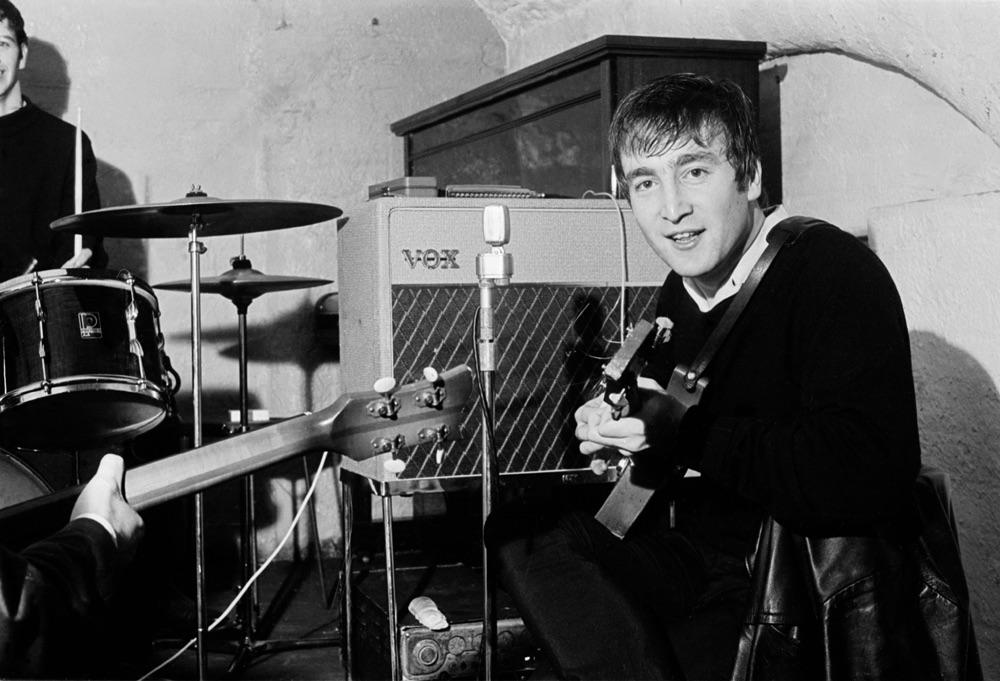 John Lennon at the Cavern, circa 1962.