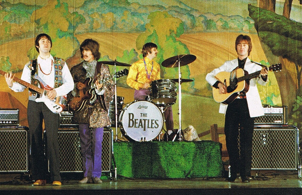 The Beatles performing Hello Goodbye, 1967.