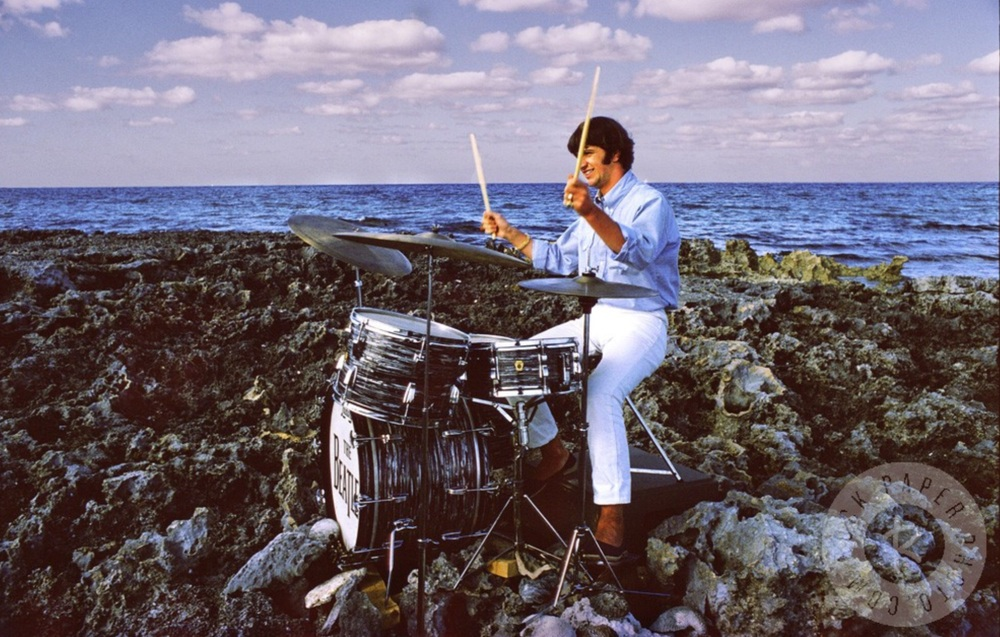 Ringo Starr   filming Help! in the Bahamas, 1965.