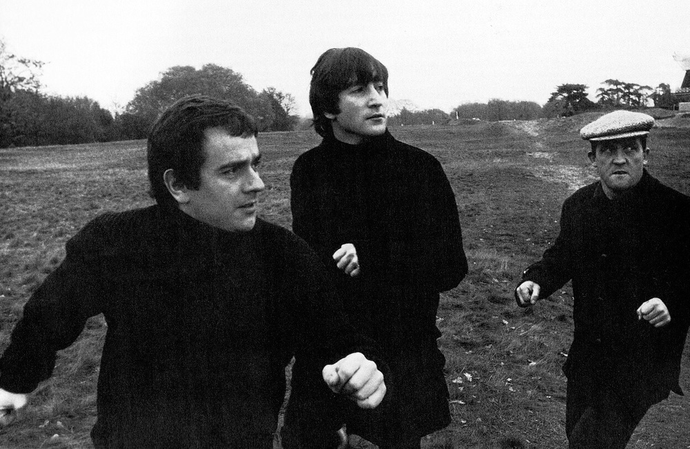 John Lennon, Dudley Moore and Norman Rossington, November 20th 1964.