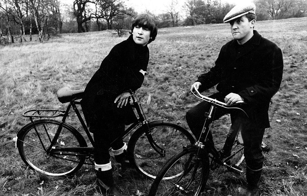 John Lennon and Norman Rossington, November 20th 1964.