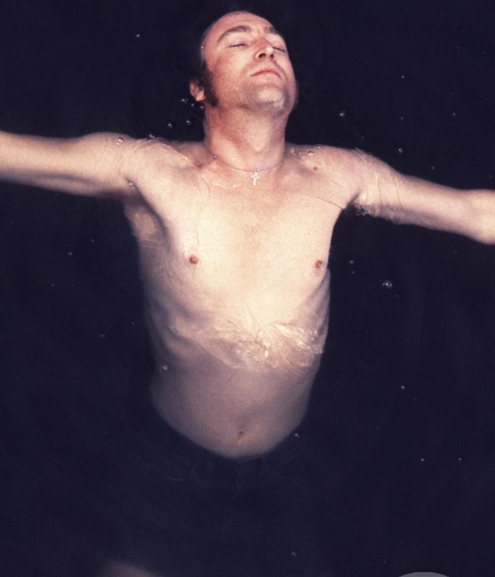 John Lennon 1974. Photo by May Pang.