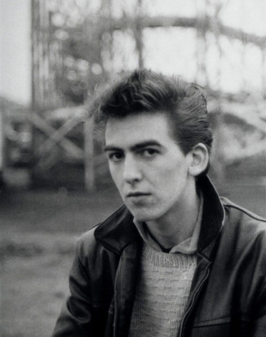 George Harrison in Hamburg, 1960.