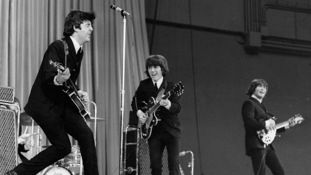 The Beatles live, 1964.