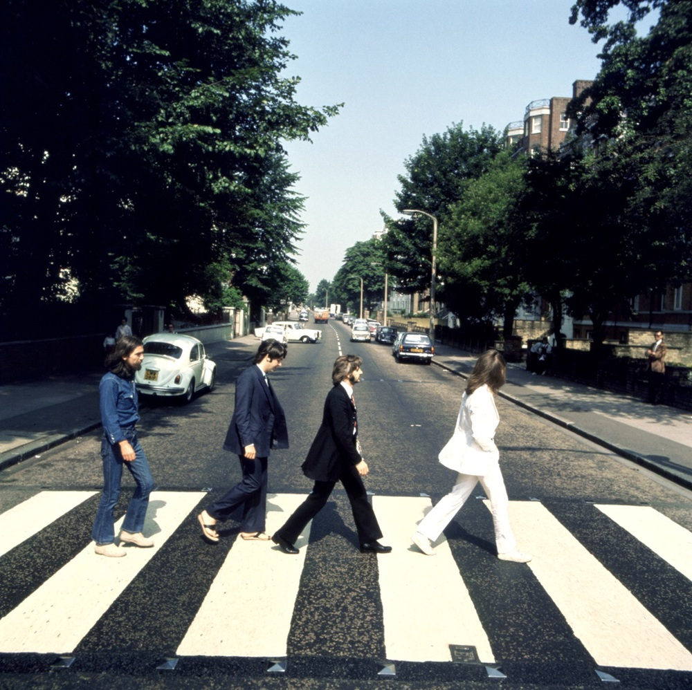 Abbey Road outtake by Iain Macmillan, August 8th, 1969.