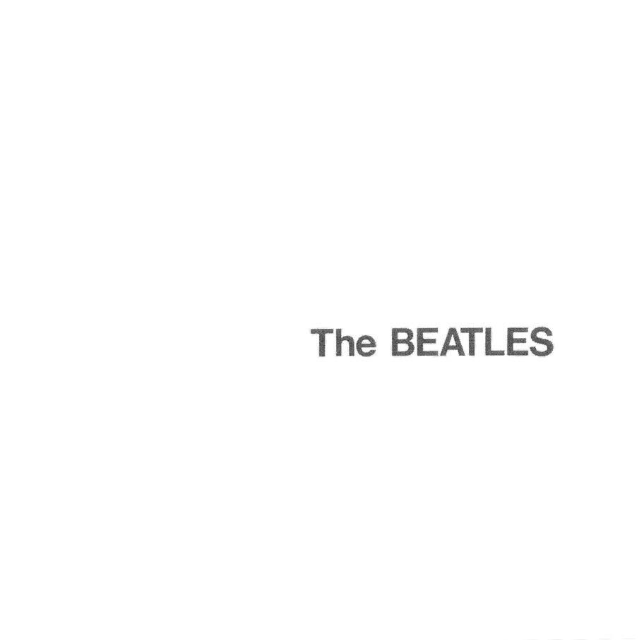 The Beatles' White Album, 1968.