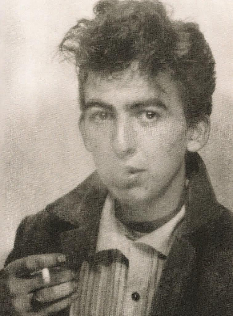 George Harrison self-portrait, 1960.