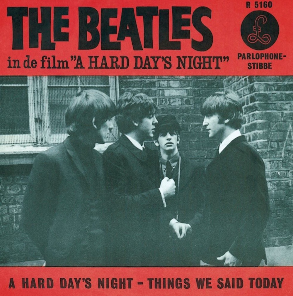 A Hard Day's Night/Things We Said Today single, 1964.
